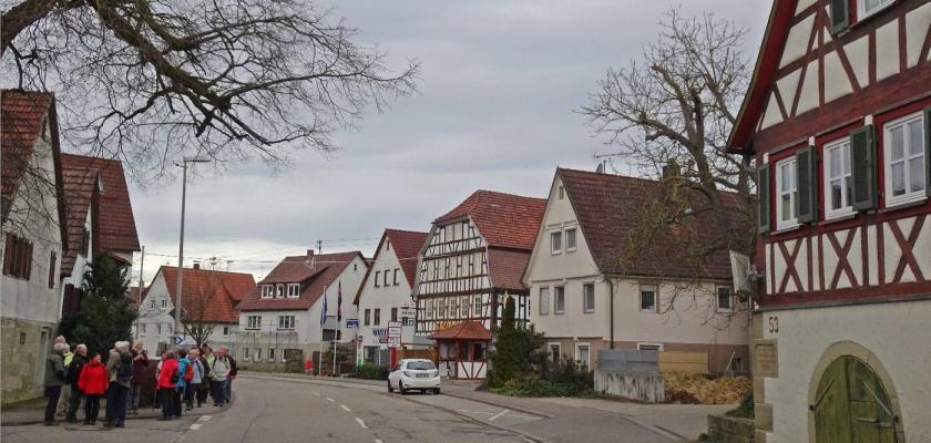 In den Naturpark Schwäbisch-Fränkischer Wald am 16.Februar